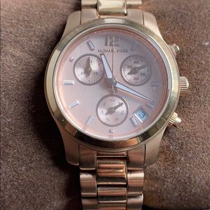 Michael Kors Runway MK5430 Mini Rose gold